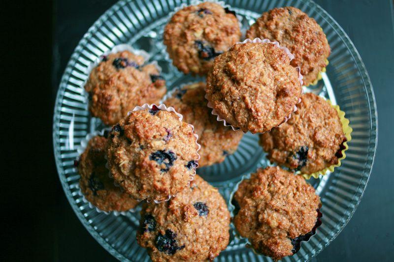 Blueberrybranmuffins